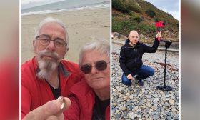 فرنسية تعثر على خاتم زواجها بعد 40 سنة من فقدانه على الشاطئ