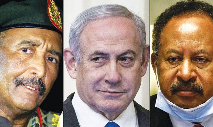 السودان وإسرائيل يوافقان على التطبيع