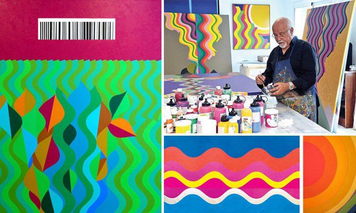 الفنان المغربي محمد المليحي: تجليات الألوان في فضاء مشمس