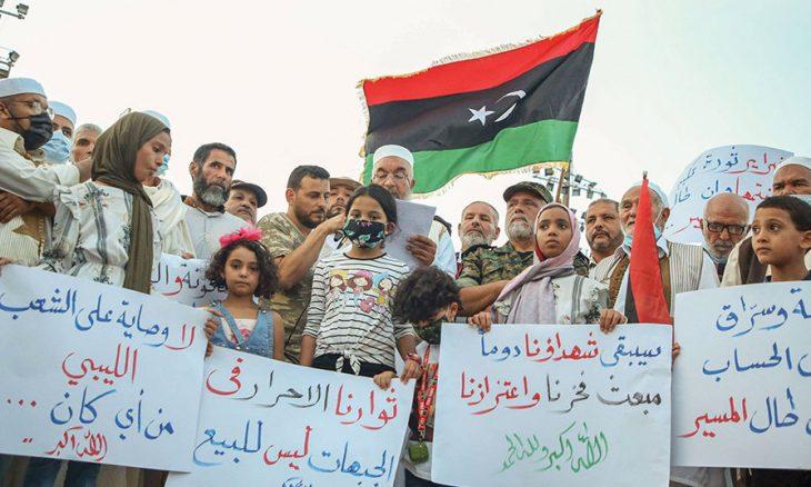 ليبيا:  أفق الآمال وهوّة الآلام