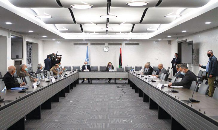 حوارات السلام الليبية:  سلطة تنفيذية مؤقتة ودستور جديد