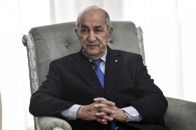 الرئيس الجزائري أنهى العلاج من كوفيد-19