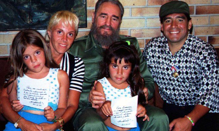 """مارادونا اليساري..""""تشي الرياضة"""" و""""ابن"""" كاسترو و""""جندي"""" مادورو – (صور وفيديو)"""