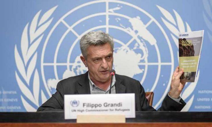 الأمم المتّحدة تمدّد مهمّة المفوّض الأعلى لشؤون اللاجئين لنصف ولاية