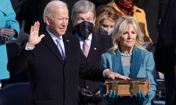جو بايدن يؤدي اليمين الدستورية رئيسا للولايات المتحدة- (صور وفيديو)