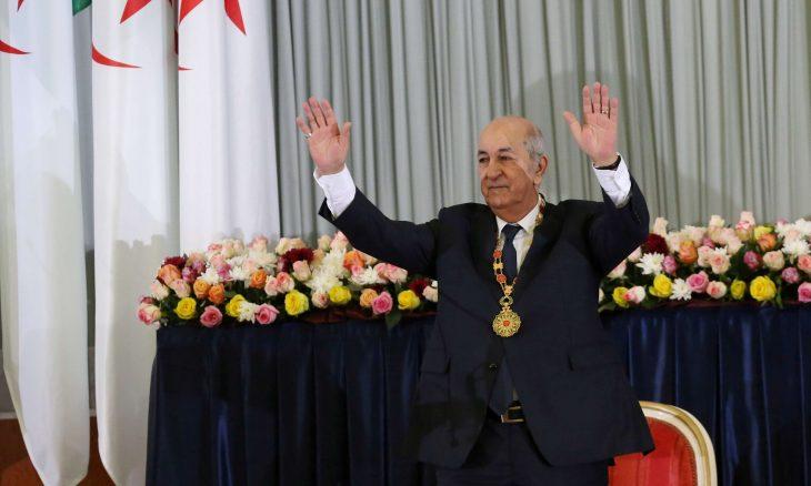 """تبون يتعهد ببناء جمهورية جزائرية جديدة """"بلا فساد وكراهية"""""""