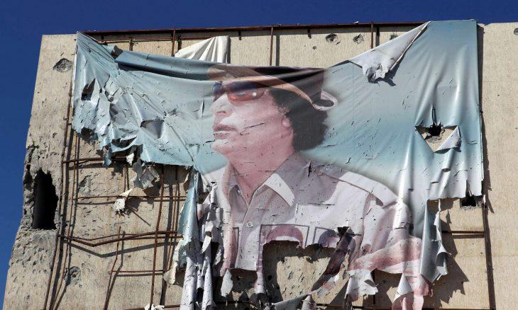 ليبيا، الزعيم الليبي السابق معمر القذافي، نظام القذافي، الناتو، لندن ، باريس،  ديفيد كاميرون، نيكولاي ساركوزي، حربوشة نيوز