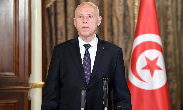 تونس، مسيرة شعبية، شارع الحبيب بورقيبة،  الرئيس التونسي قيس سعيد ، حل البرلمان،  الهنتاتي،  حربوشة نيوز
