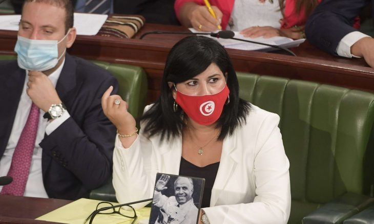 تونس، عبير موسي ، الحزب الدستوري الحر،  زين العابدين بن علي،  علماء المسلمين،  حربوشة نيوز
