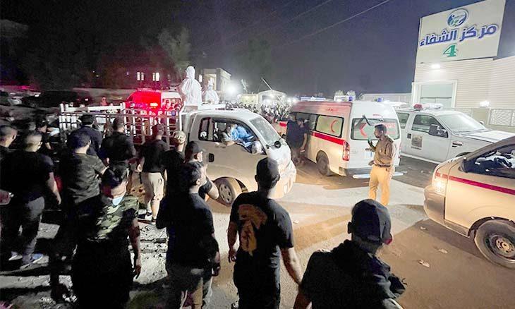 حرق المرضى في المستشفى في بغداد ليس حادثا  منذ ساعتين حرق المرضى في المستشفى في بغداد ليس حادثا : هيفاء زنكنة  -هيفاء-3-730x438