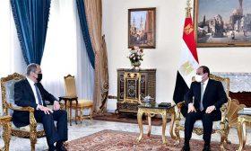 السيسي خلال لقاء لافروف: عدم حل قضية سدّ النهضة سيؤثر سلباً على أمن واستقرار المنطقة