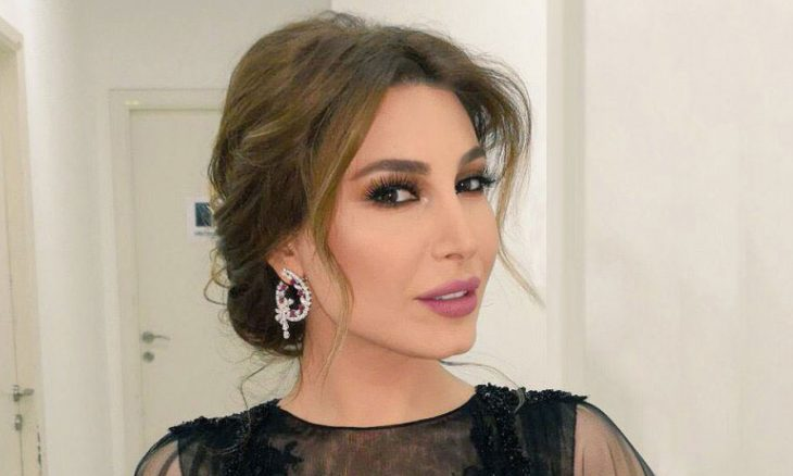 Lebanese singer Iara participates in the Moroccan series