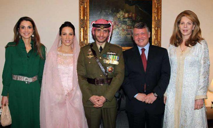 الأردن، الملك عبد الله الثاني، الأميرة لطيفة،  ابنة حاكم دبي، الأمير حمزة،  الملك حسين، الملكة نور، حربوشة نيوز