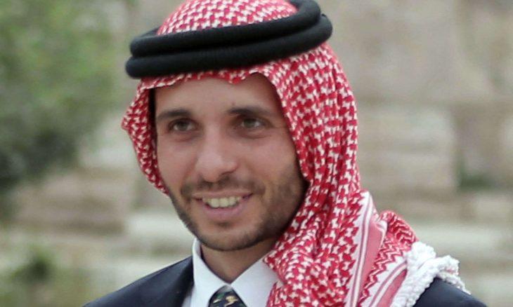 الأردن  رئيس مجلس الأعيان الأردني فيصل الفايز،  الأمير حمزة، الأمير حسن بن طلال ، حربوشة نيوز