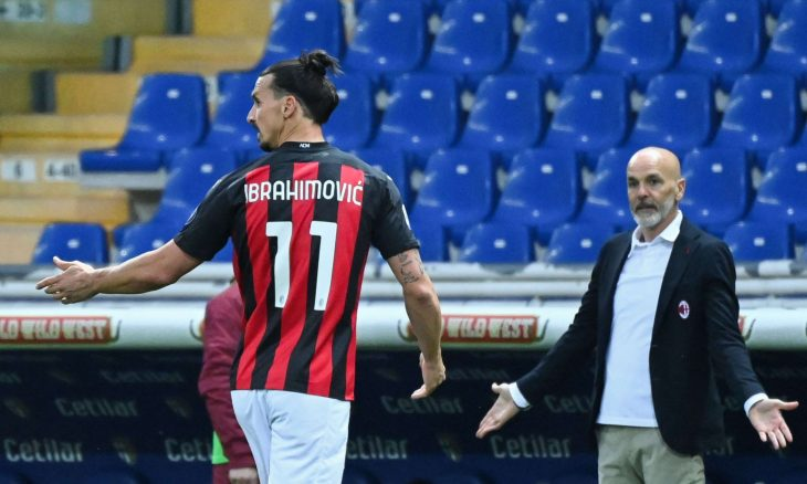 إيقاف إبراهيموفيتش مباراة وتغريمه 5000 يورو لانتقاده حكم مباراة بارما