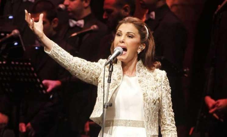 ماجدة الرومي تغني أغنية ممنوعة لأم كلثوم في مصر- (فيديو)