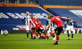 ويست بروميتش يهزم ساوثهامبتون بثلاثية في الدوري الإنكليزي