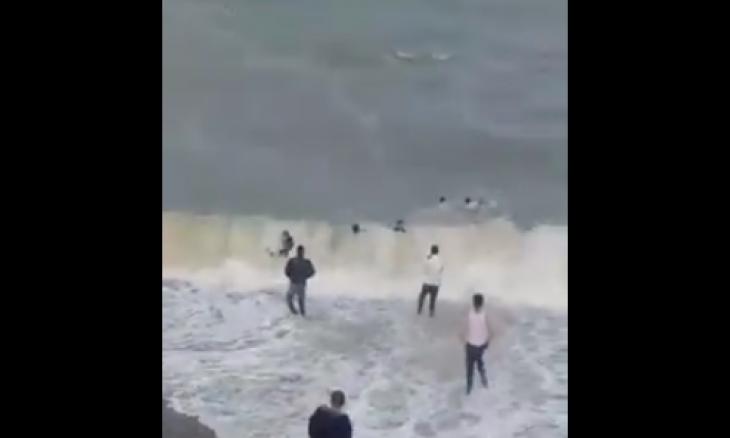 في سابقة.. عشرات المغاربة يصلون سبتة سباحة والبعض ابتلعه البحر