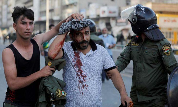 العراق: مصرع متظاهر وسقوط جرحى برصاص الأمن في تظاهرة طالبت بكشف قتلة الناشطين  منذ يوم واحد العراق: مصرع متظاهر وسقوط جرحى ب -8-730x438