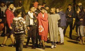وصول أكثر من ستة آلاف مهاجر إلى سبتة في 24 ساعة وإسبانيا تنشر وحدات من الجيش على الحدود مع المغرب