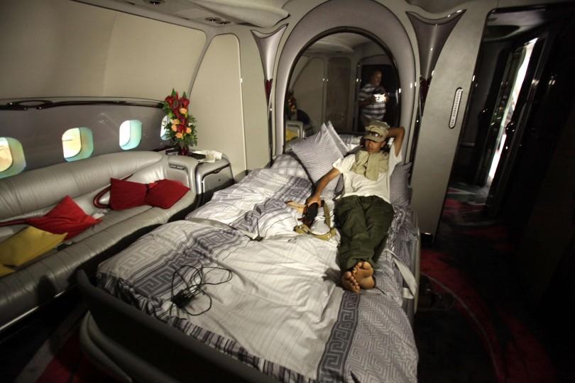 طائرة القذافي الرئاسية، حربوشة نيوز، حربوشة_نيوز