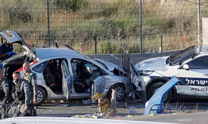 عملية دهس بالقدس.. إصابة 6 من الشرطة الإسرائيلية واستشهاد المنفذ- (صور وفيديوهات)