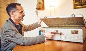 فرنسا: مدينة بيزييه تتسلم حقيبة حربية سرية لقائد المقاومة البارز جان مولان