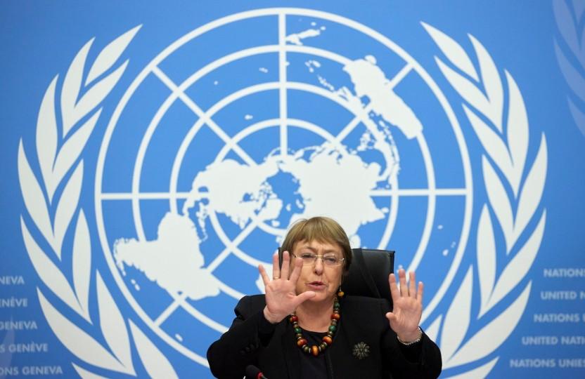 """أسف أمريكي ورفض إسرائيلي.. مجلس حقوق الإنسان يصوت لصالح فتح تحقيق في """"جرائم"""" ارتكبت خلال العدوان الإسرائيلي على غزة  منذ 3 س Bachlet"""