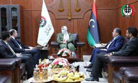 وزيرة العدل الليبية تطالب بتفعيل اتفاقية التعاون القضائي مع مصر- (صور)