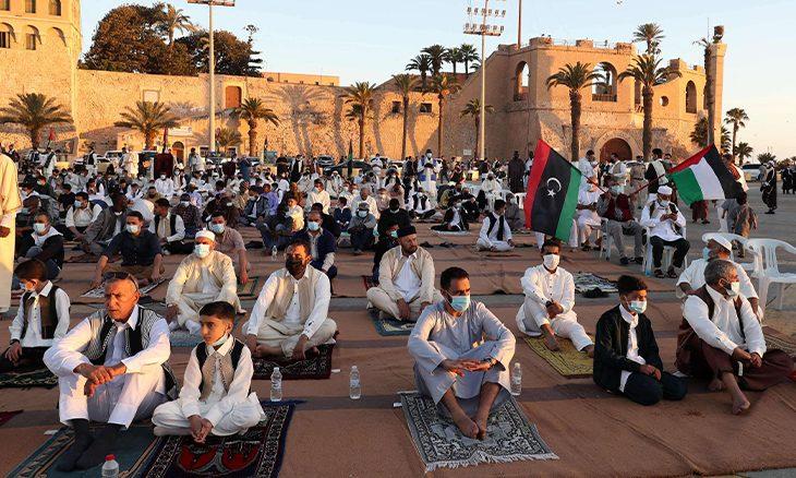 مدينة ليبية تظهر مع هلال العيد وتختفي مجددا!