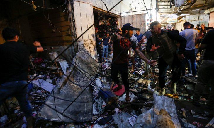 20 قتيلا على الأقل في هجوم دام بسوق في بغداد عشية الأضحى- (صور وفيديوهات)