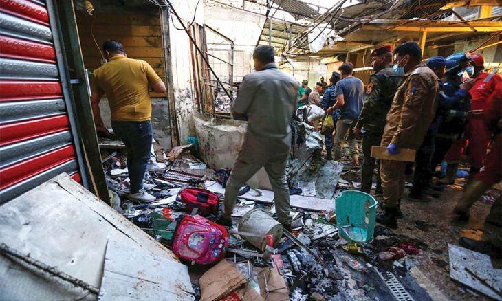 عيد العراقيين مضرّج بالدماء: عشرات القتلى والجرحى بانفجار في بغداد  منذ 10 ساعات عيد العراقيين مضرّج بالدماء: عشرات القتلى و 2021-07-19_20-41-19_555145-730x438