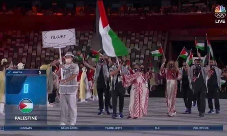 قناة أمريكية تضع خارطة مجتزأة لفلسطين لدى دخول الوفد المشارك في أولمبياد طوكيو- (صور وفيديوهات)
