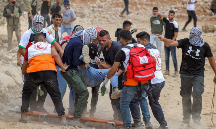 استشهاد فلسطيني وإصابة العشرات في مواجهات مع جيش الاحتلال الإسرائيلي في الضفة الغربية- (صور وفيديو)