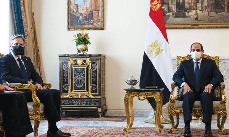 إدارة بايدن لا تتعامل مع تهديدات الحكومة المصرية بشأن سد النهضة بجدية