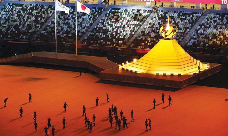 أخيراً أوقدت شعلة نور أولمبياد طوكيو!