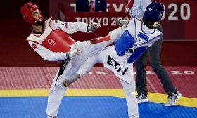 التونسي محمد خليل الجندوبي يتوج بفضية التايكوندو بأولمبياد طوكيو
