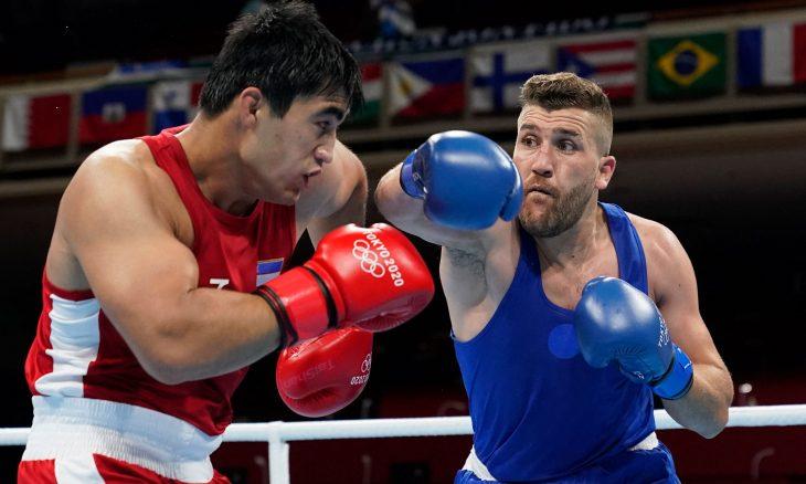 الملاكم بن شبلة ينقذ المشاركة الجزائرية في يومها الأول بأولمبياد طوكيو