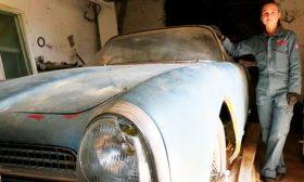 فرنسا: سيارتان فاخرتان في المزاد بعد اكتشافهما في حظيرة