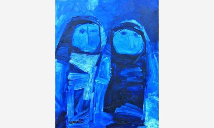 تحولات الألوان والخطوط في أعمال العراقي عصام عبد الإله