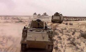 مقتل 8 من أفراد الجيش المصري في عمليات لمكافحة الإرهاب