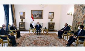 السيسي يستقبل وزير الخارجية الجزائري ويتمسك باتفاق ملزم بخصوص سدّ النهضة