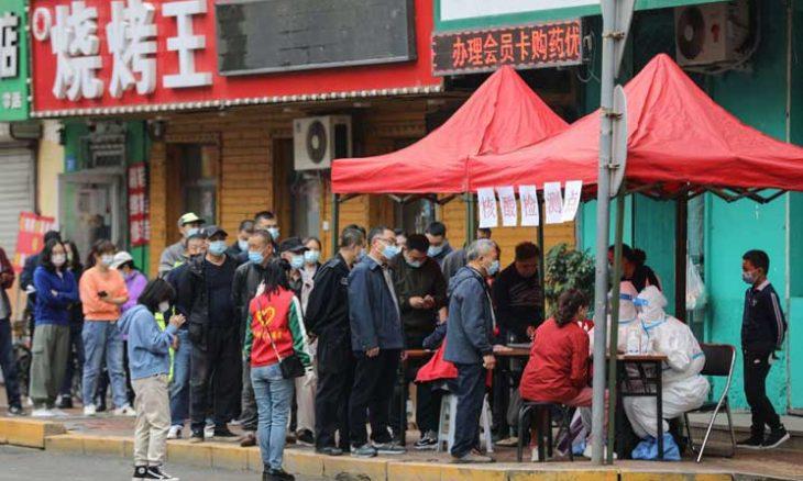 إغلاق جزئي بمدينة صينية بسبب كوفيد-19