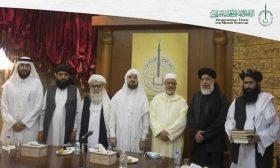 """وفد من طالبان يزور """"علماء المسلمين"""" لاستلهام الأفكار حول بناء الدولة الأفغانية"""