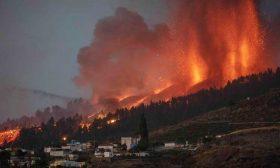 ثوران بركان في جزيرة لا بالما الإسبانية وإجلاء الآلاف- (صور)