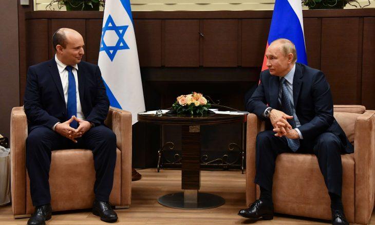بوتين لبينيت: العلاقات بين روسيا وإسرائيل فريدة لكن هناك مسائل خلافية