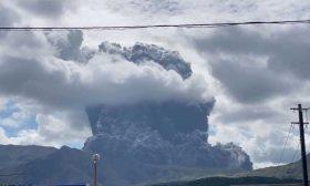 """ثوران بركان جبل """"أسو"""" في اليابان- (صور)"""