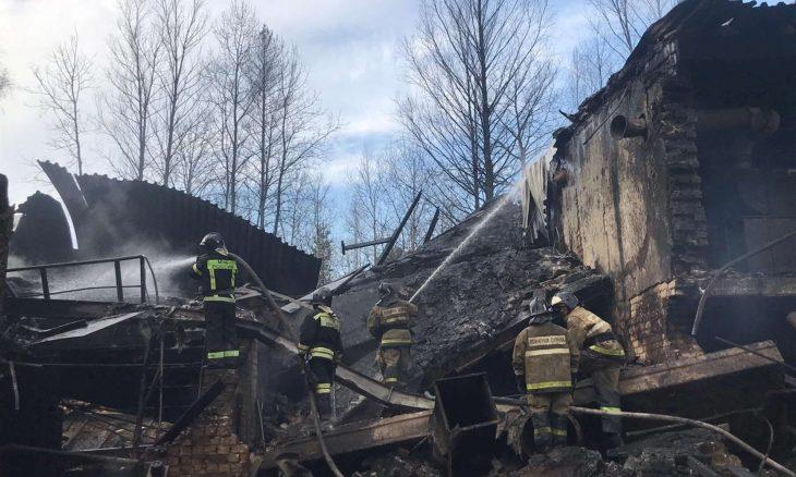 مقتل 16 شخصا جراء انفجار وحريق بمصنع كيماويات في روسيا