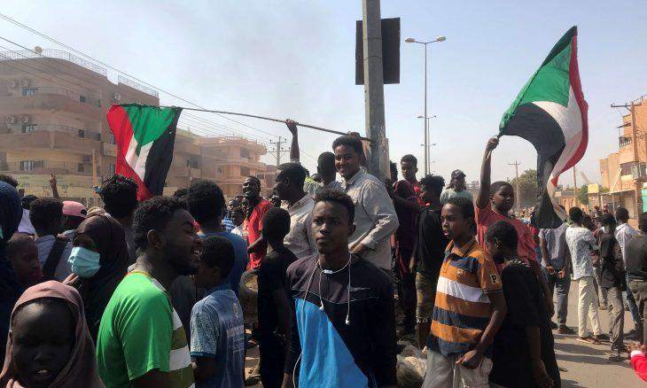 انقطاع الاتصالات في السودان بعد الانقلاب