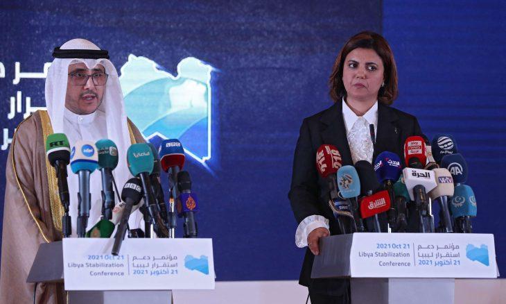 """البيان الختامي لمؤتمر """"دعم استقرار ليبيا"""" يؤكد على خلق بيئة مناسبة لإجراء انتخابات وطنية نزيهة"""